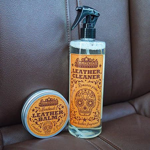 Handmade Leather Balm conditioning protecting moisturising natural immaculate reflection car care seats