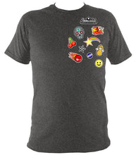 Icon Patches Tee Tweed / S (34-36 Inch Chest) Unisex T-Shirt