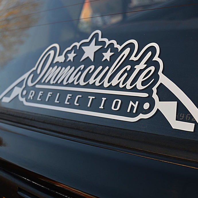 Immaculate Reflection Large Arch Vinyl Decal Stickers
