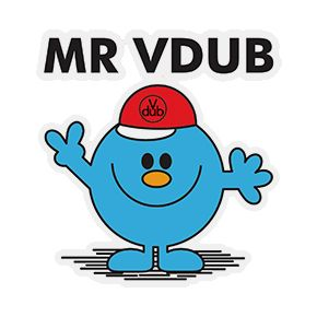 Mr Vdub Sticker Stickers