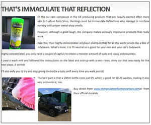 Jellybeans Foamy Sweet Shampoo - Immaculate Reflection Car Care
