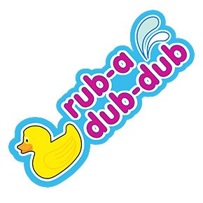 Rub-Adub-Dub Duck Sticker Stickers