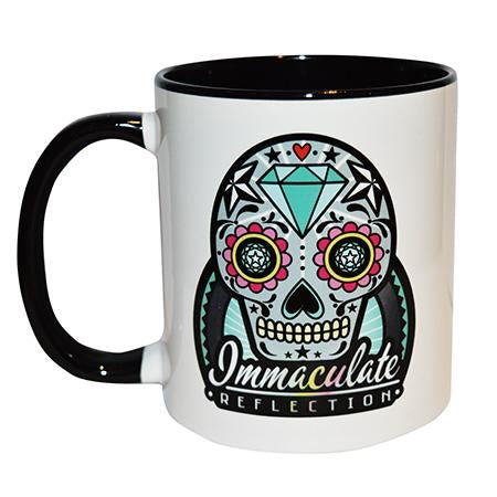 Sugar Skull 300Ml Ceramic Mug Immaculate Reflection Car Care