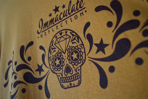 Leather Products style Skull tee - Immaculate Reflection Car Care