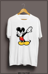 BroFactor Mickey Dab Graphic Printed T-Shirt