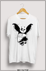 BroFactor Dancing Panda Graphic Printed T-Shirt