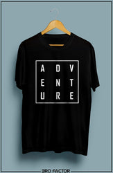 Adventure Square Graphic Printed T-Shirt