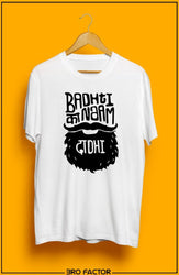 Bro Factor Badhti Dhaadhi Graphic Printed T-Shirt