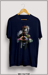 BroFactor Clown Graphic Printed T-Shirt