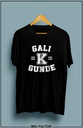 Bro Factor Gali K Gunde Graphic Printed T-Shirt