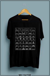 Bro Factor Travel Graphic Printed T-Shirt