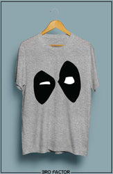 BroFactor Superhero Eyes Graphic Printed T-Shirt