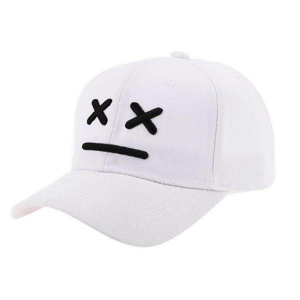 White Snapback With Marshmellow Logo Baby Edition