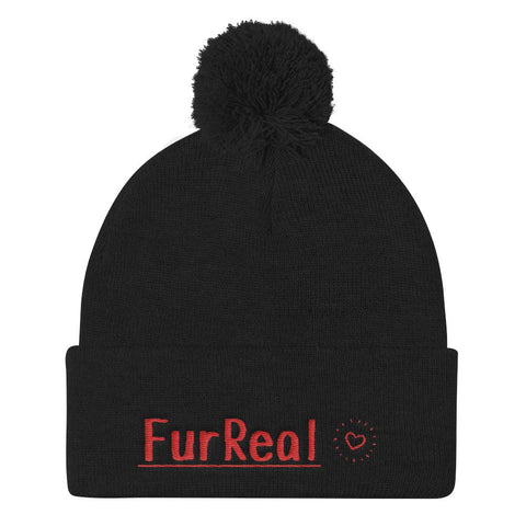 FurReal - Beanie - Black - Quality Materials - Professionally Designed