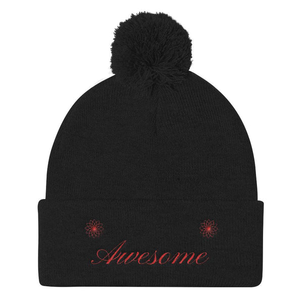 Awesome - Quality Beanie - Black - Professionally Designed