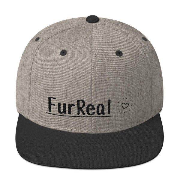 FurReal - Snapback - Heather/Black - Quality Materials - Professionally Designed