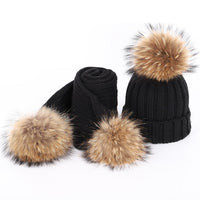 Raccoon Fur (2 Pieces Set) 3-5 Year