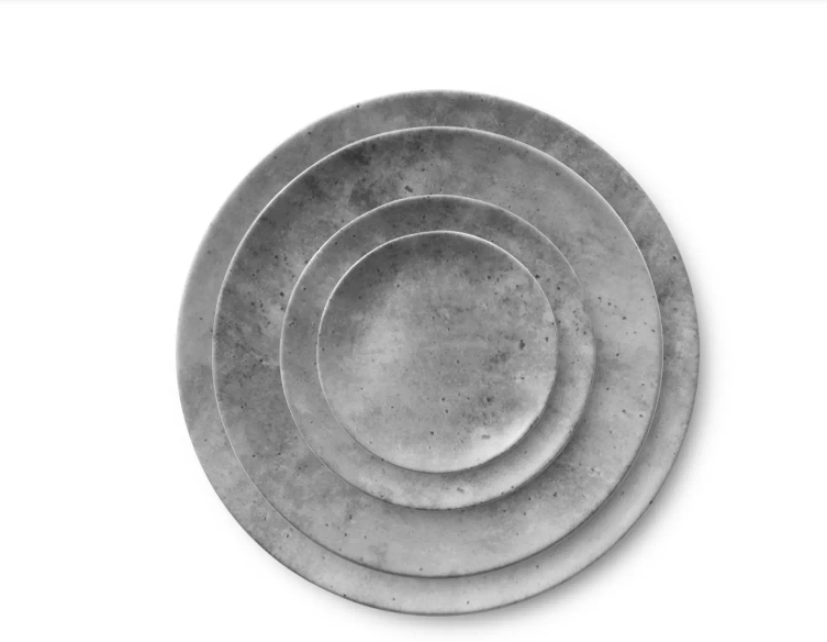 "Pompeii 6.5"" Bread Plates 4pc & 6pc Set"