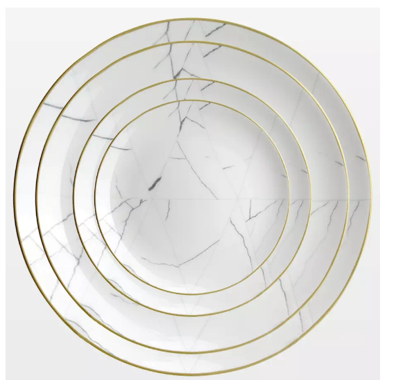 "Vatican 10.5"" Dinner Plates 4pc & 6pc Set"