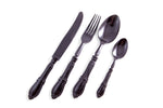 Antique Plastique Black 24pc