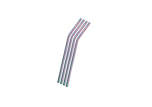 Stainless Steel Straws - Rainbow