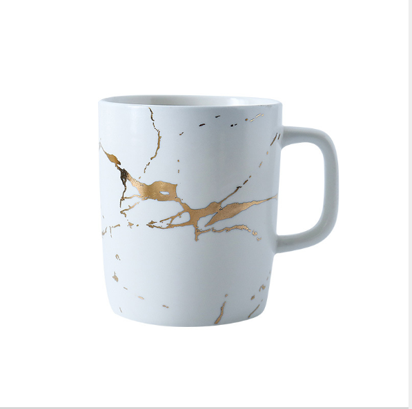 Kintsugi Breakfast Cup White