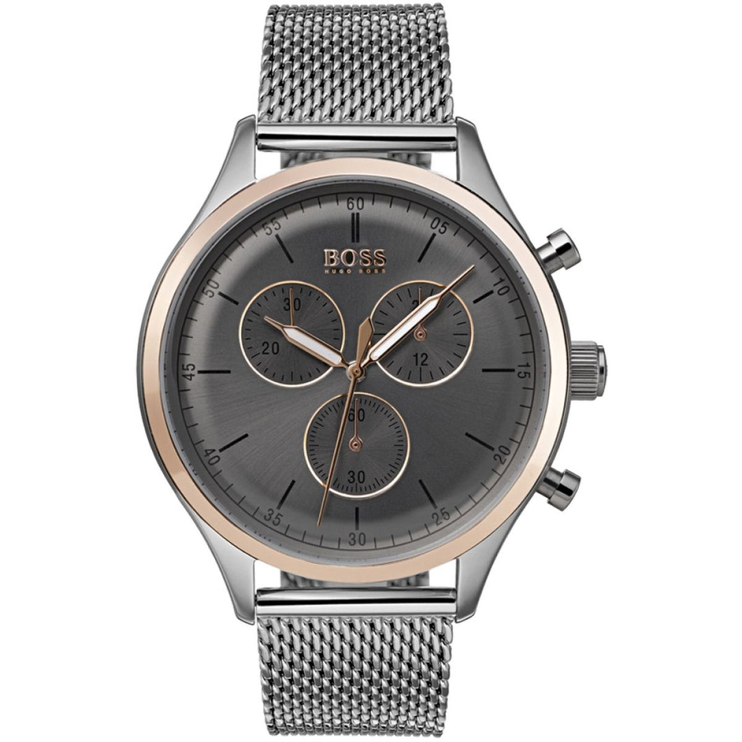 HUGO BOSS MENS COMPANION CHRONOGRAPH WATCH 1513549