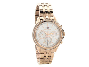 Tommy Hilfiger Ladies Ari Carnation Rose Gold Chronograph Watch 1781978