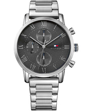 Tommy Hilfiger Men's Kane Stainless Steel Silver Watch 1791397