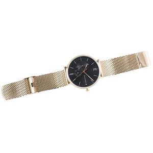 Tommy Hilfiger Men's Brooklyn Rose Gold Mesh Strap Watch 1791506