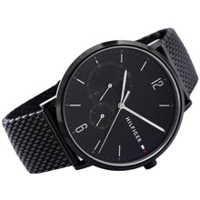 Tommy Hilfiger Men's Brooklyn Black Mesh Watch 1791507