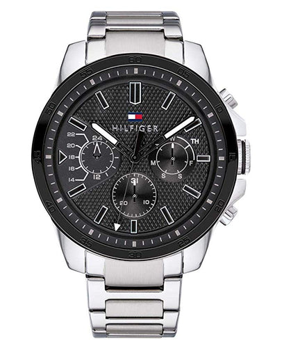 Tommy Hilfiger Men's Decker Stainless Steel Watch 1791564