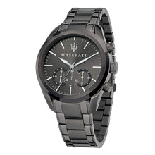 Maserati Men's Traguardo Analogue Grey Stainless Steel Watch - 8873612002