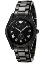 Emporio Armani Ladies Ceramica Black Watch AR1402