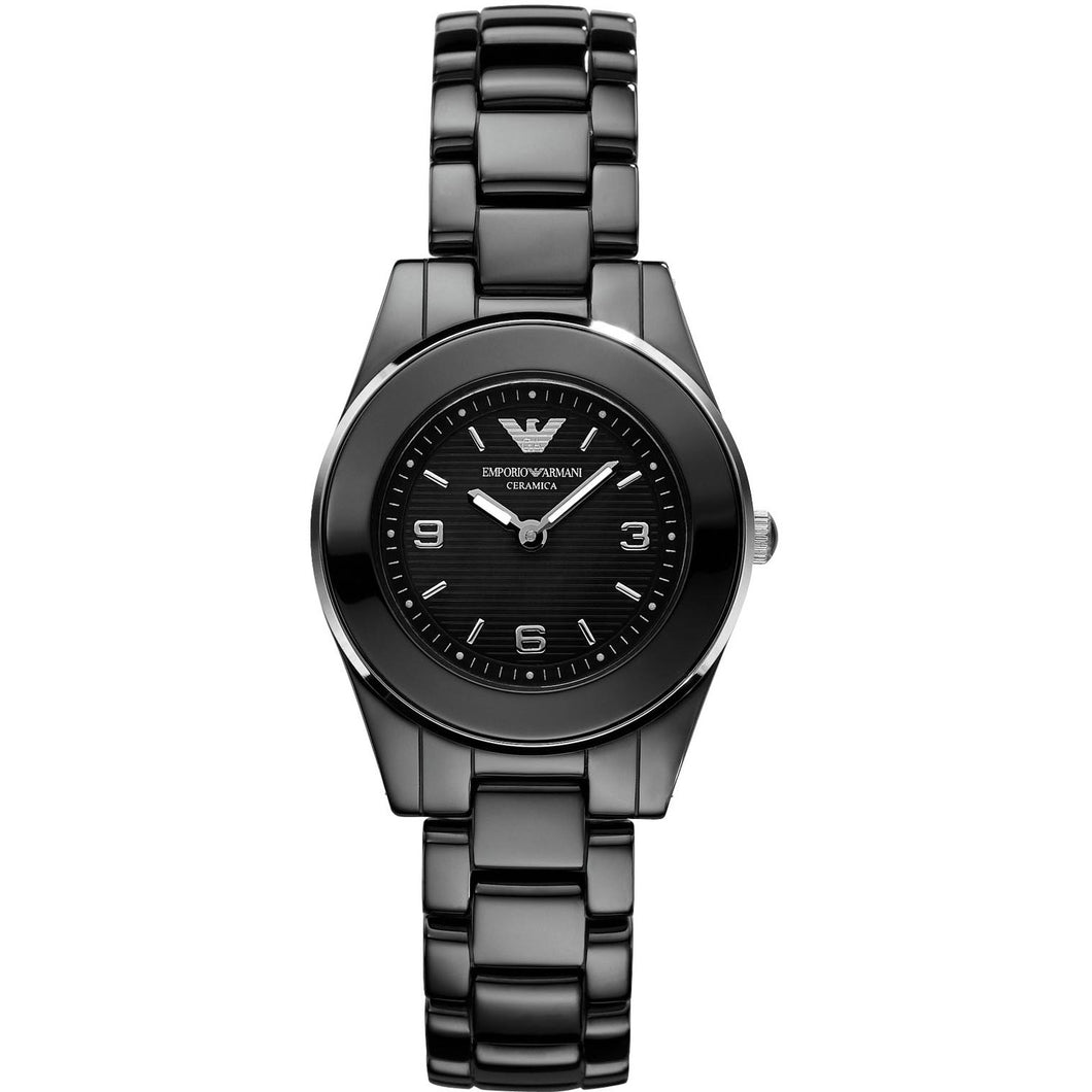 New Emporio Armani Ladies  Ceramic Watch AR1438