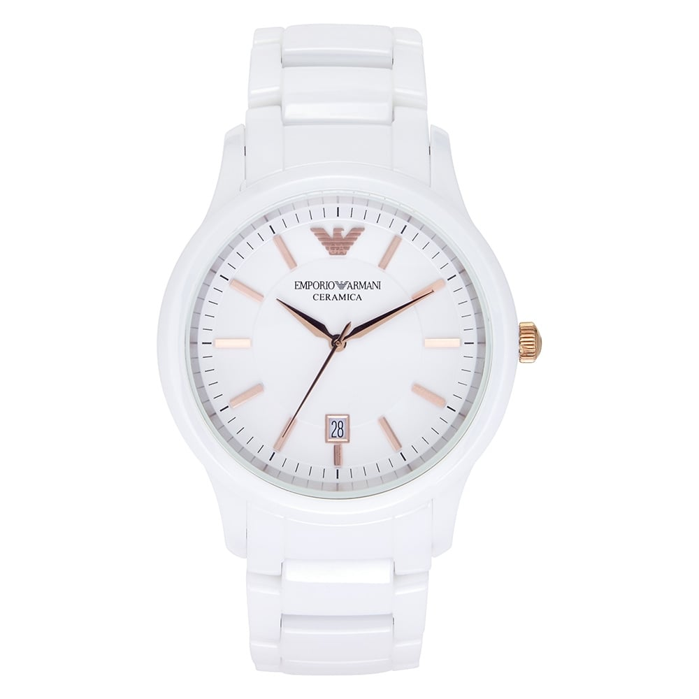 Emporio Armani Mens Ceramic Watch AR1467
