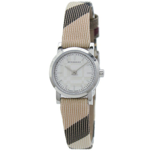 Burberry Nova Check Silver Cool Women's Watch BU1759