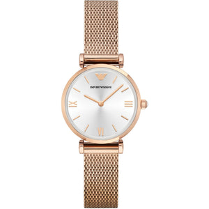 Ladies Emporio Armani Watch - Rose Gold