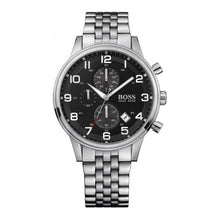 Hugo Boss Men's Aeroliner Silver Chronograph Watch HB1512446