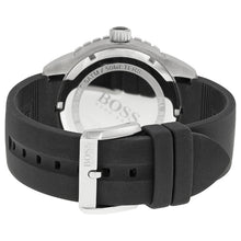 Hugo Boss Men's Black Rubber Strap Sports Watch HB1512885