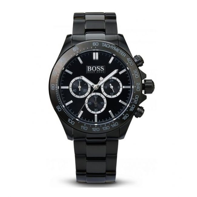 Hugo Boss Men's Ikon Black Stainless Steel HB1512961