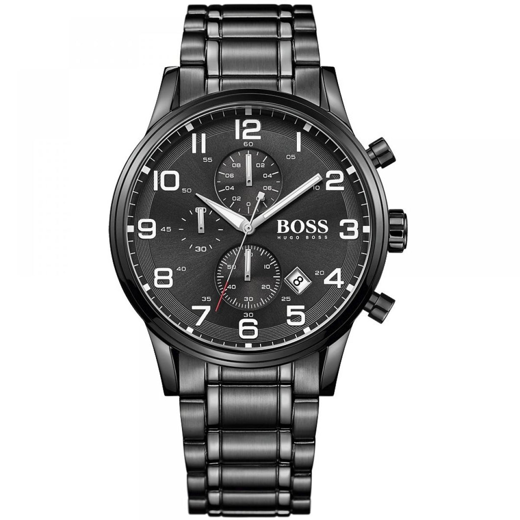 Mens Hugo Boss Aeroliner Chronograph Watch – HB1513180