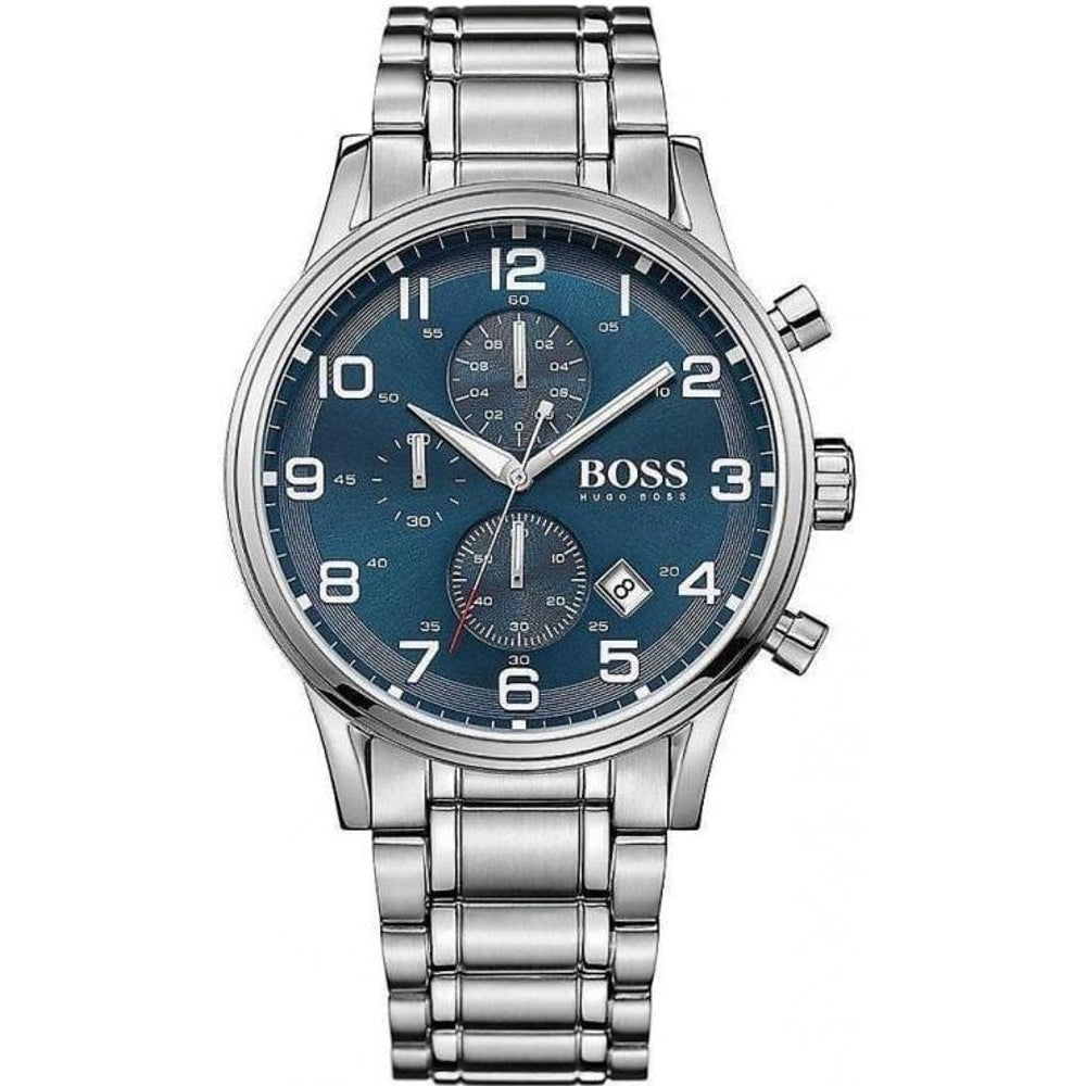 Mens Hugo Boss Aeroliner Chronograph Watch HB1513183