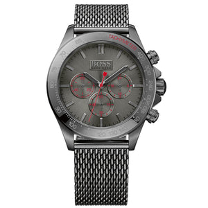 HUGO BOSS Mens Gunmetal Chronograph Watch HB1513443