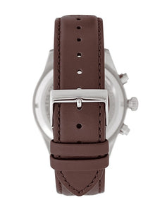 Hugo Boss Mens Brown Leather Grand Prix Chronograph Watch HB1513476