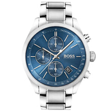 Men's Hugo Boss Blue/Silver Grand Prix Chronograph Watch HB1513478