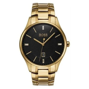 Hugo Boss Men's Governor Stainless Steel Gold Watch HB1513521