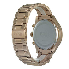 Hugo Boss Men's Trophy Rose Gold Chronograph Watch HB1513632