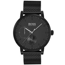 Hugo Boss Men's Oxygen Black Mesh Watch HB1513636