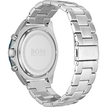 New Hugo Boss Men's Sport Intensity Stainless Steel Blue Dial Watch HB1513665